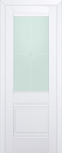 2U (стекло матовое)