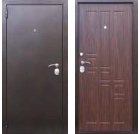 Дверь мет. 1900*860/960