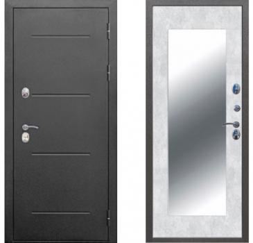11 см ISOTERMA Букле черный Бетон снежный Зеркало MAXI