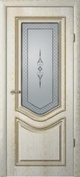 Рафаэль-1 (стекло «Классика», патина золото)