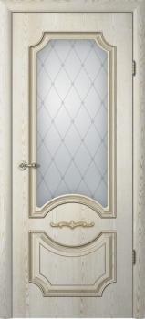 Леонардо (стекло «Классика», патина золото)