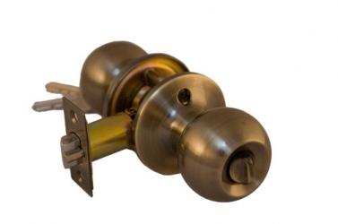 Ручка-защелка Бронза Артикул 607-АВ-ET (ключ-завертка), 607-АВ-BK (завертка)
