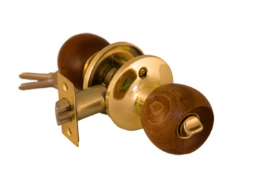 Ручка-защелка. Темное дерево                            Артикул 7817-AC/P-ET (ключ-завертка), 7817-AC/P-BK (завертка)