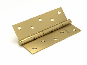 Петля универсальная 2BB 125x75x2,5 SB (мат. золото)