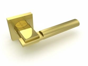 Ручка раздельная JAZZ KM SG/GP-4