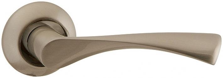 Ручка раздельная CLASSIC AR SN/CP-3 матовый никель/никель, квадрат 8x130 мм