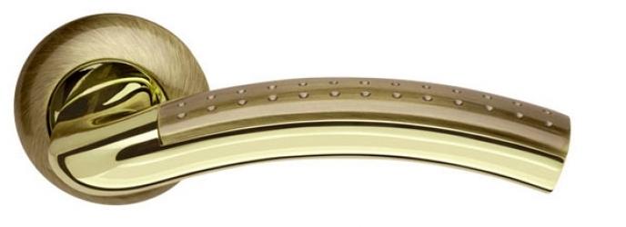 Ручка раздельная Libra LD27-1AB/GP-7 бронза/золото