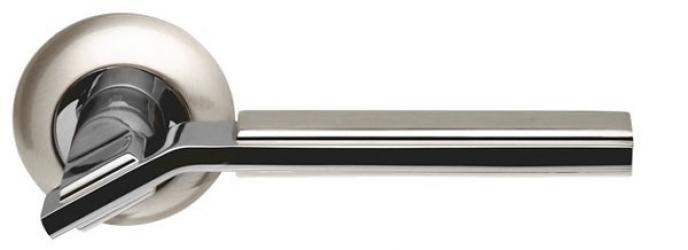 Ручка раздельная Cosmo LD147-1SN/CP-3 матовый никель/никель
