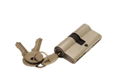 Ключевой цилиндр 60 мм 3 кл Хром R6-3-60 PС-D (ключ-ключ)